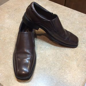 DOCKERS MEN LEATHER LOAFER